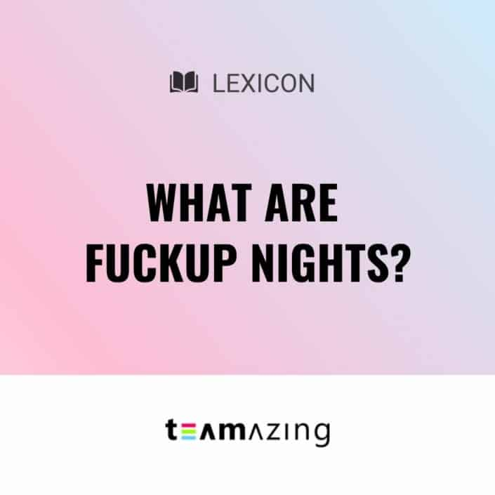 What are Fuckup Nights?