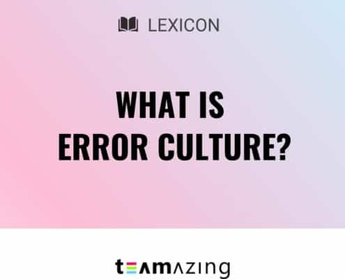 What is error culture?