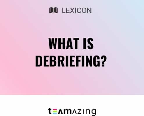What is debriefing?