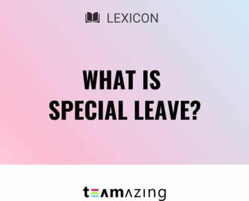 What is special leave?