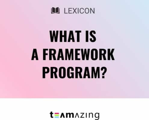 What is a framework program?