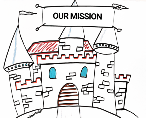 A castle as symbol for mission